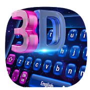 App 3D Laser tech keyboard APK for Windows Phone