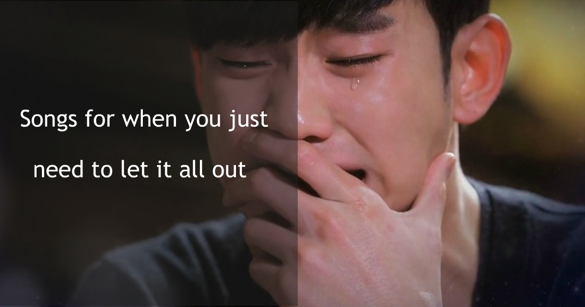 20 Of The Most Heart Shattering K Pop Breakup Songs To Help You Cry It All Out Koreaboo