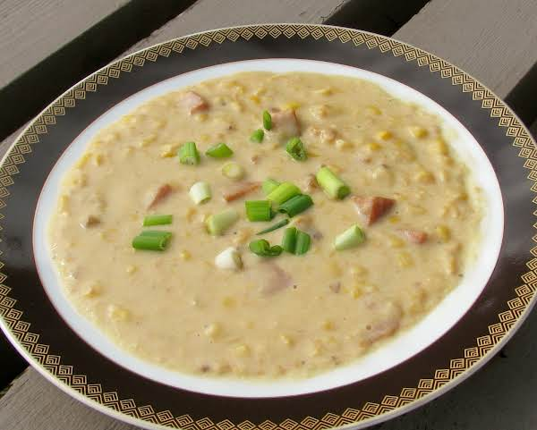 Quickie Ham And Corn Chowder