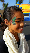 Photo: Holiday/Christmas face painting by Tess, long Beach, Ca  www.memorableevententertainment.com 888-750-7024
