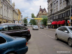 Photo: Downtown Irkutsk