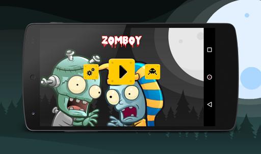 Zombie Boy Run