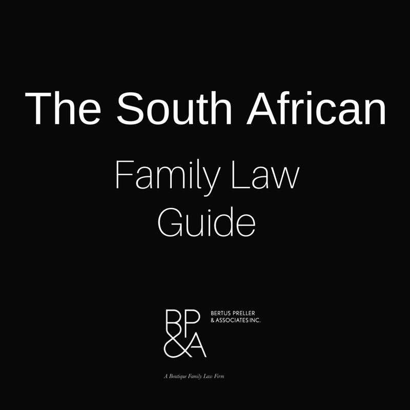 Family Laws South Africa- screenshot