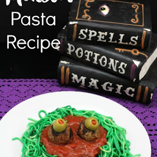 Monster Pasta Recipe - Great Halloween Meal