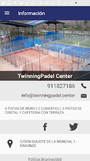 Twinning Padel Center Gratis