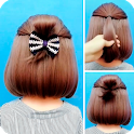 Hairstyles for short hair icon