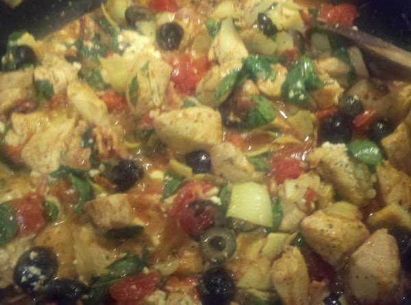 Grecian Chicken Pasta Recipe