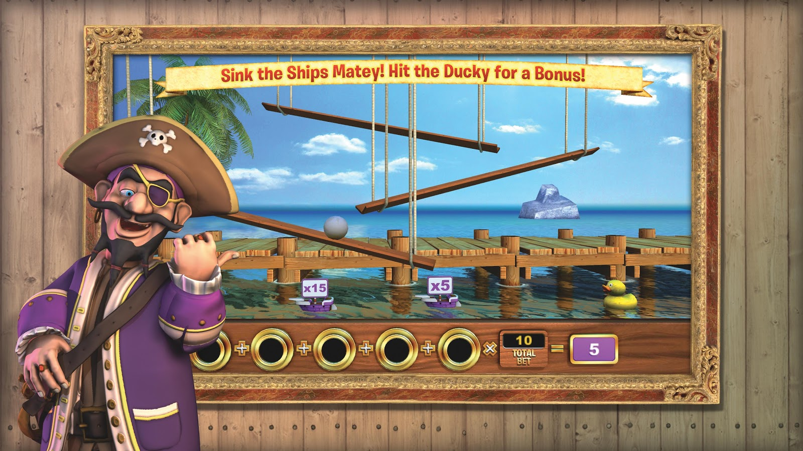Crazy Pirate Slots 2- screenshot