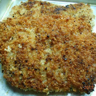 Panko Crusted Pork Cube Steak.