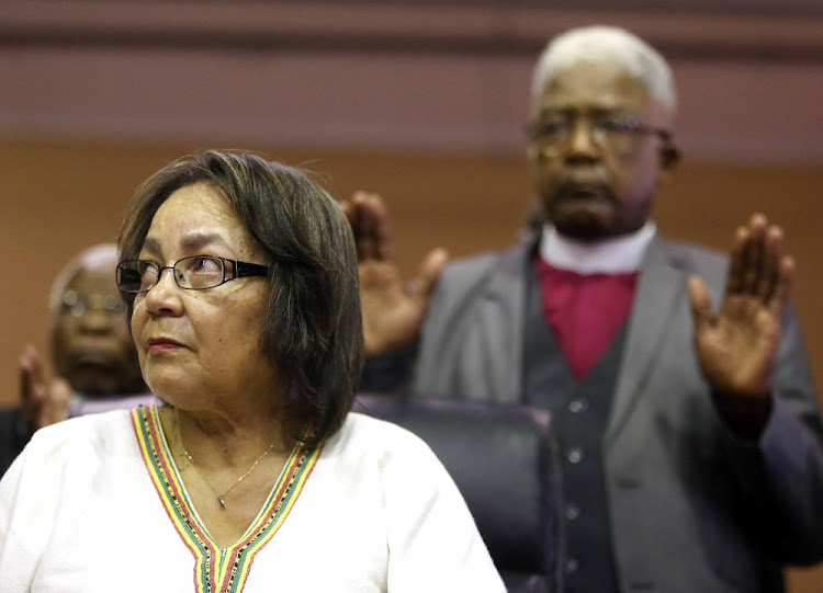 DA leader Mmusi Maimane says the federal legal council will investigate and prosecute Patricia de Lille. Picture: ESA ALEXANDER