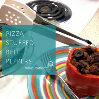 Pizza Stuffed Bell Peppers