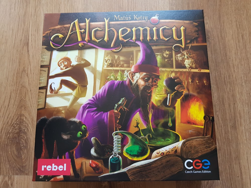 Alchemicy - pudełko
