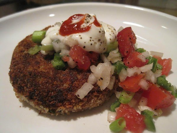 Refried Bean Cakes Recipe