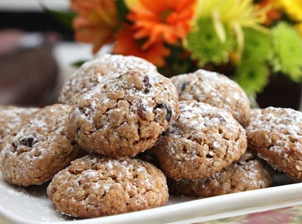 Cardamon Cranberry Oatmeal Cookies Recipe