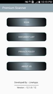 Premium Scanner: PDF Doc Scan Mod 17.1.0 Apk (Patched) 1