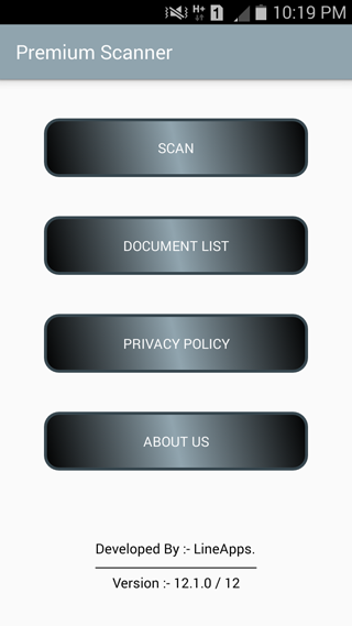 Premium Scanner: PDF Doc Scan Screenshot 0