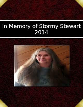 In Memory of Stormy Stewart 2014