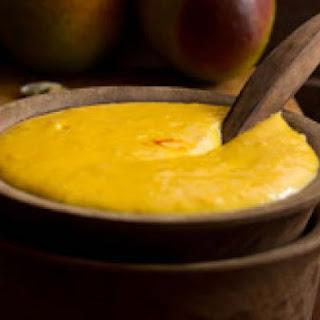 Amrakhand - Mango Based Dessert.