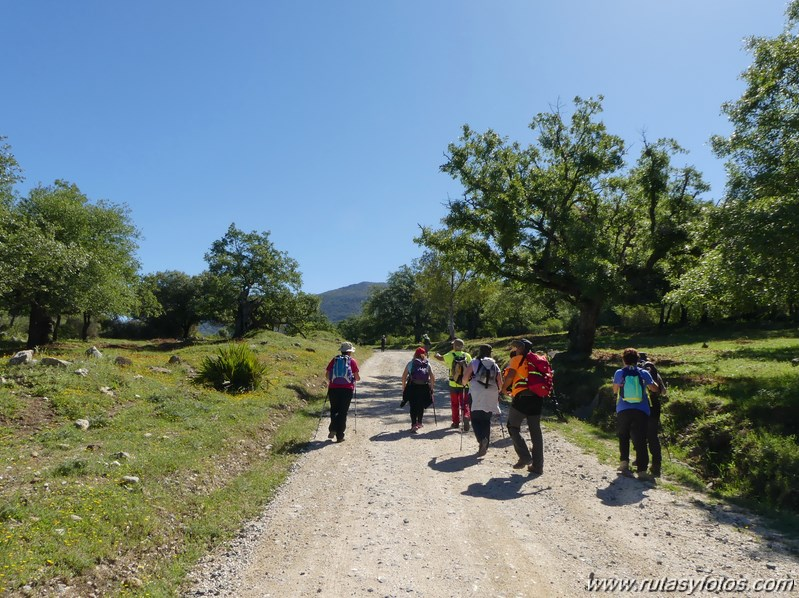 Estación de Cortes - Estación de Benaoján por el sendero del río Guadiaro