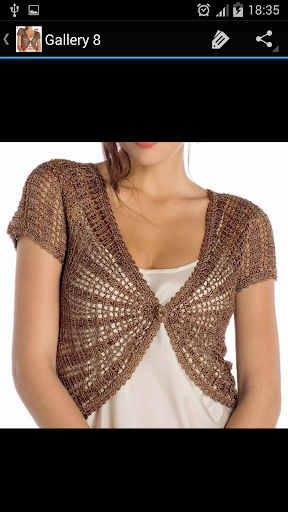 Crochet Pattern Bolero Designs