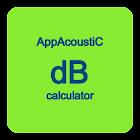 dB calculator icon