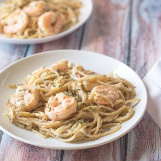 20 Minute Garlic Shrimp Pasta
