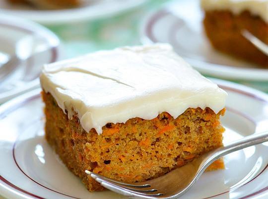 Grandma Murray's Carrot Cake Recipe