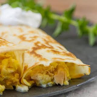 Tuna, Egg, and Cheese Crepes.
