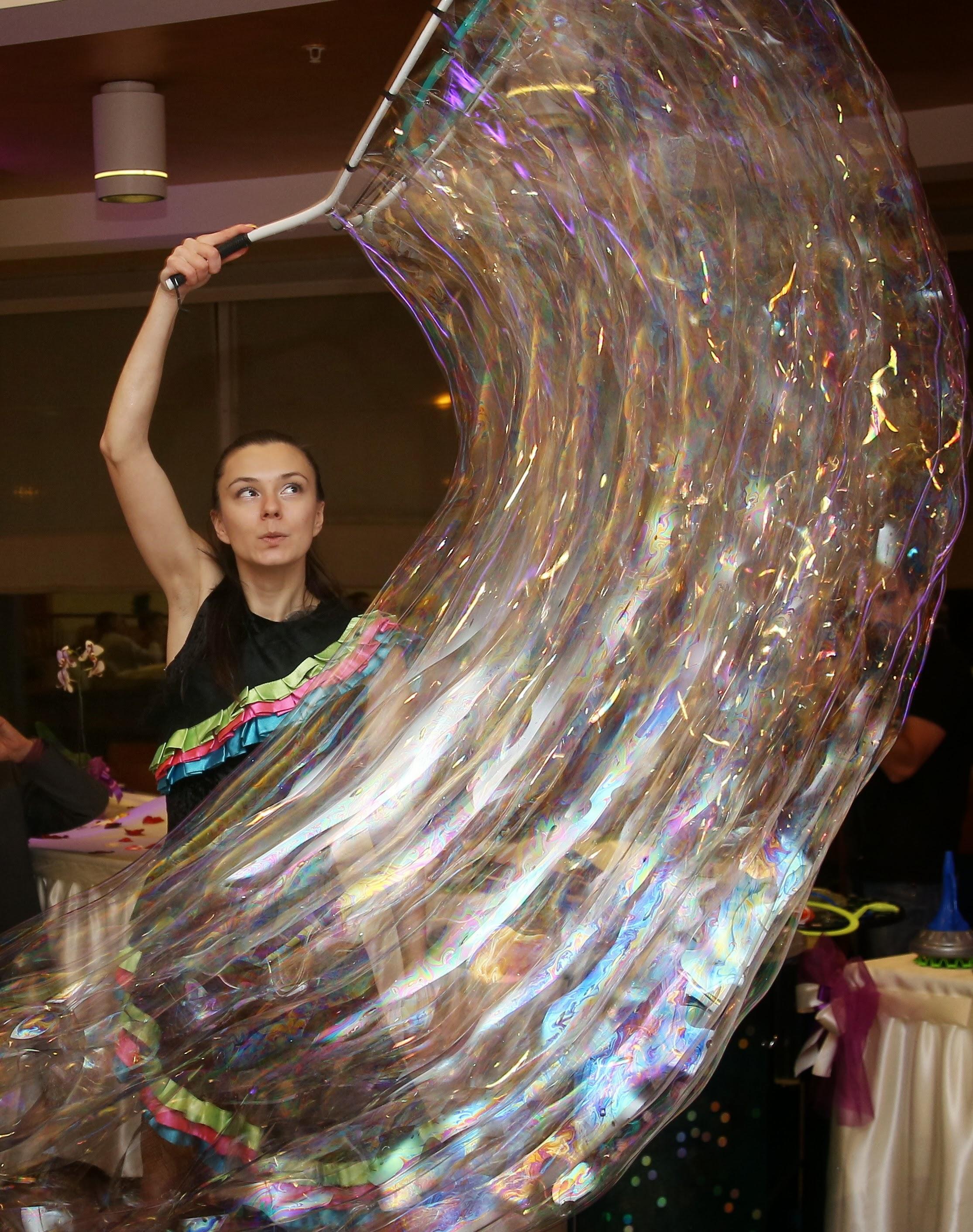 Шоу Мыльных Пузырей Beautiful Art в Самаре