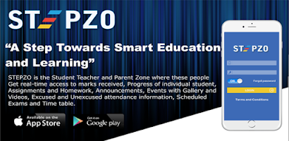 STEPZO: School Management Mobile Application - Android app
