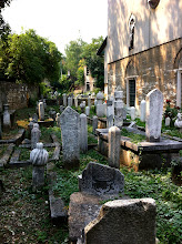 Photo: Old cemetery by mosque.  Sarajevo.