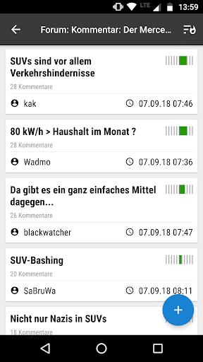 heise online - News 3.4.2 screenshots 5