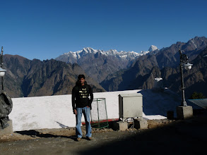 Photo: Clear Day at Auli. Cant ask for a better first day of the Trek. This is my 3rd visit to Auli but i think it had never been and will never be as beautifull as this.