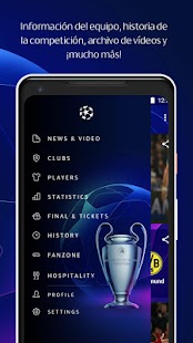 UEFA Champions League Screenshot