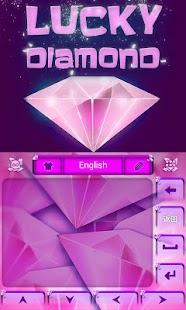 Lucky-Diamond-GO-Keyboard 2
