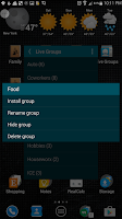 Screenshot of Live Groups
