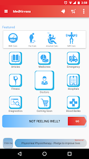 Healthcare App - MedNirvana- screenshot thumbnail
