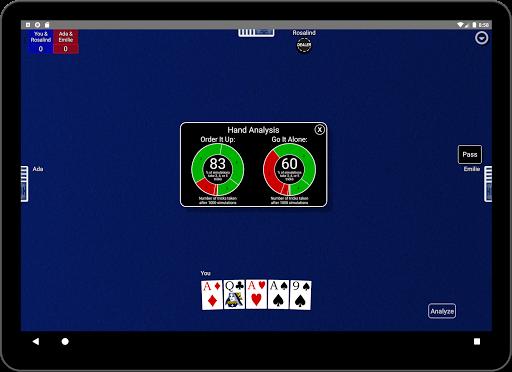 Euchre Card Classic 1.1 screenshots 13