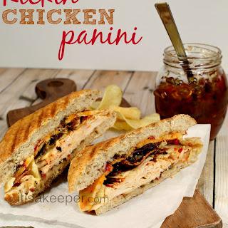 Kickin' Chicken Panini.