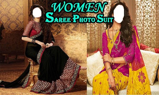 Women Saree Photo Suit - náhled