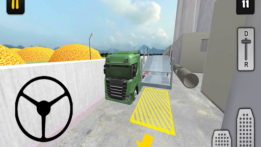 Truck Simulator 3D: Car Transport 1.0 screenshots 4