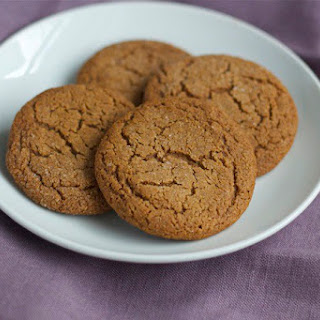 Gluten Free Molasses Spice Cookies
