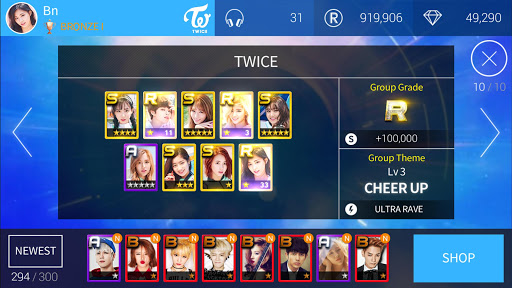 SuperStar JYPNATION  gameplay | by HackJr.Pw 13
