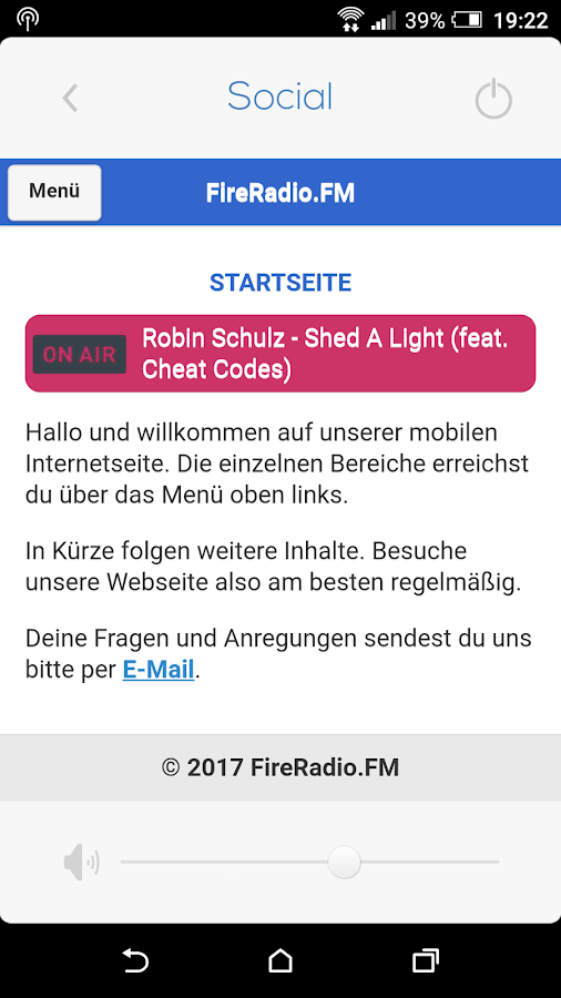 FIRERADIO FM- screenshot