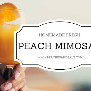 Fresh Peach Alcoholic Drinks Recipes
