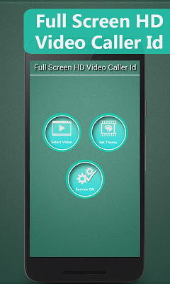 Full Screen HD Video Caller Id - screenshot