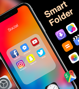 X Launcher Prime | Stylish OS Theme Phone X Max Screenshot