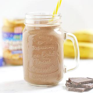 Peanut Butter Protein Shake.