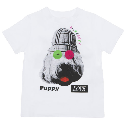 Primary image of Burberry Cat & Dog T-shirt
