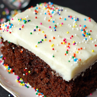 Chocolate Gingerbread Cake with Cream Cheese Frosting